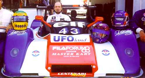 Claude in racecar