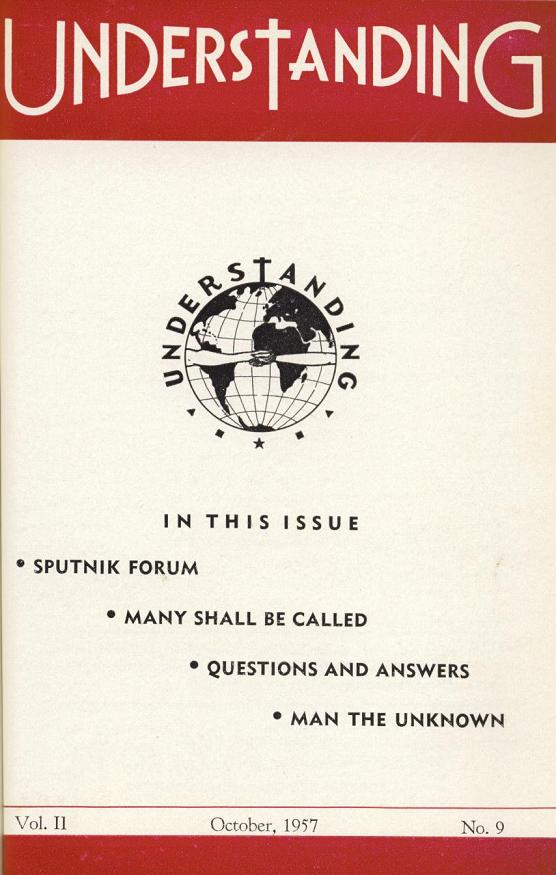 Understanding 1957 Vol2 no1 - cover