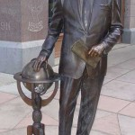 george-h-w-bronze